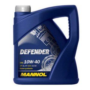 Моторные масла MANNOL Defender 10W-40 API SL/CF, 5л
