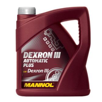 Трансмиссионные масла и жидкости MANNOL Dexron III Automatic Plus, 5л