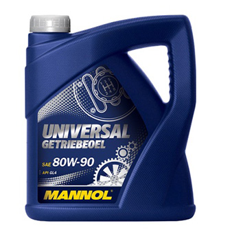 Трансмиссионные масла и жидкости MANNOL Universal Getriebeoel 80W-90 API GL 4