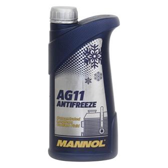Технические жидкости MANNOL Longterm Antifreeze AG11