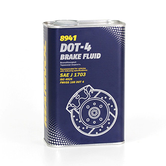 Тормозные жидкости MANNOL Brake Fluid DOT-4